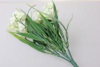 примула махровая белая  букет - цветы искусственные