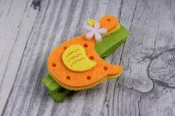 прищепка  с уткой (флок)  (3шт в уп) микс ht16a204   9910