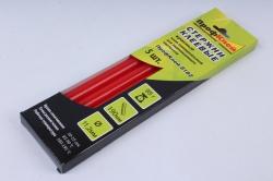 Термоклей (клеевые стержни) ПрофКлей-8182 КРАСНЫЙ 11,2*190мм, 95 г  (5 шт в уп)