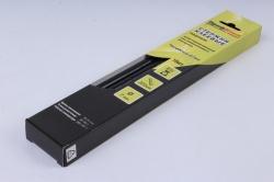 Термоклей (клеевые стержни) ПрофКлей-8780 ЧЁРНЫЙ 7*200мм, 85 г  (10 шт в уп)