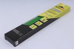 Термоклей (клеевые стержни) ПрофКлей-8781 ЗЕЛЁНЫЙ 7*200мм, 85 г  (10 шт в уп)