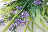 пролеска цветы микс букет 30см