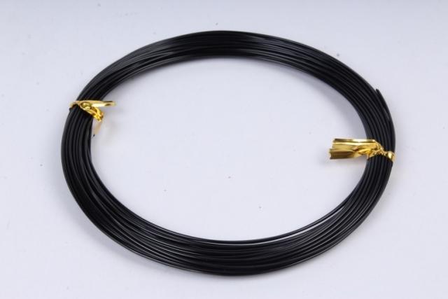 Проволока флористическая 0,8 мм*10м чёрный