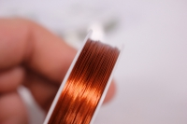 проволока флористическая 0,4мм*50м бронзовая