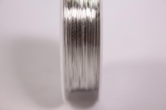 проволока флористическая 0,4мм*50м серебро