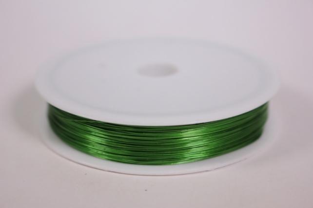 проволока флористическая 0,4мм*50м зеленая