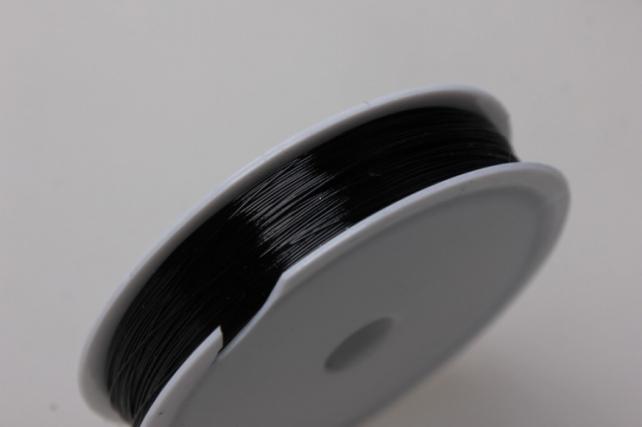 Проволока флористическая 0,4мм х 25м чёрный