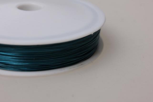 проволока флористическая 0,4мм х 50м голубой