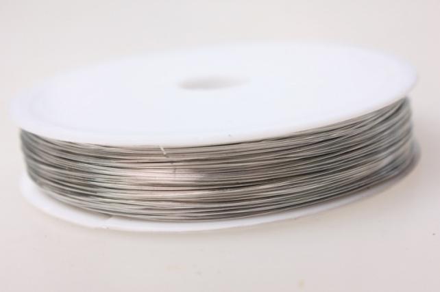 проволока флористическая 0,4мм х 50м серебро