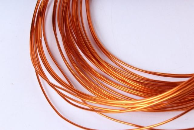 проволока флористическая 0,8 мм*10м оранжевый