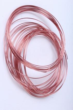 проволока флористическая 0,8 мм*10м розовый