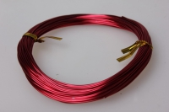 Проволока флористическая 0,8 мм красный