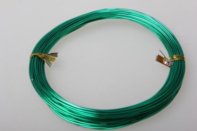 Проволока флористическая 0,8 мм зелёный