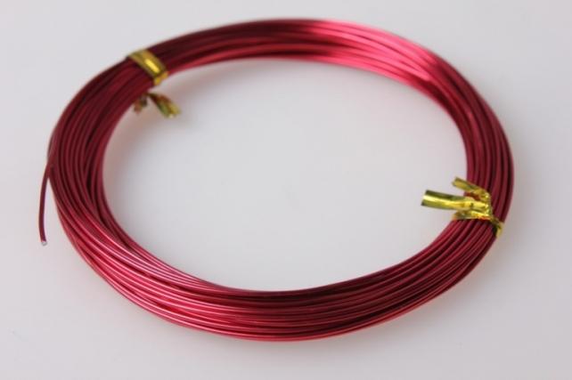 Проволока флористическая 0,8мм - Красная