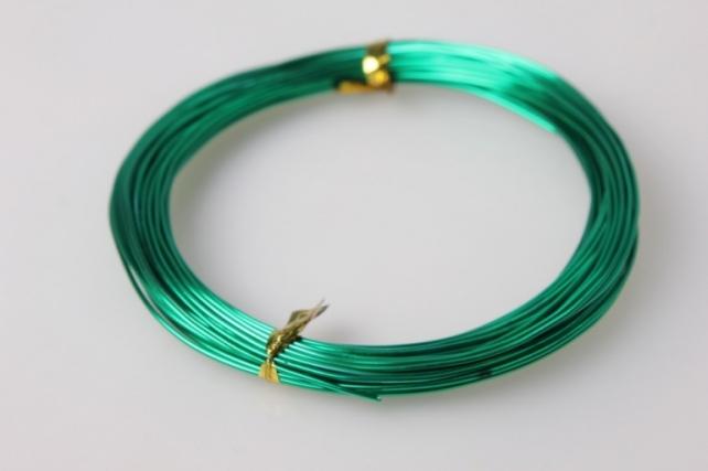 Проволока флористическая 0,8мм - Зеленая