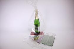 Прозрачные пакеты - Пакет с жестким дном №2 (11х17х60) (12 шт. в упаковке)
