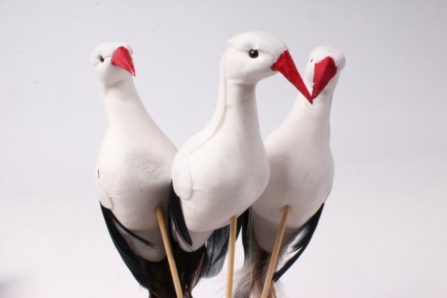 Птичка  Аист (12ш в уп) 1812  W16686