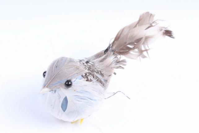 Птичка  с голубой грудкой ( 12 шт в уп) H1804007S/12