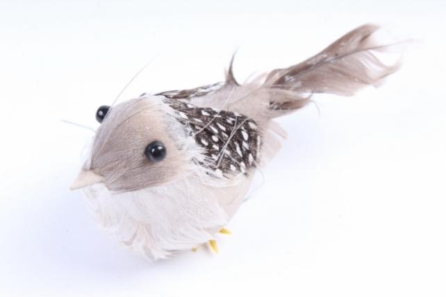 Птичка  с серой грудкой ( 12 шт в уп) H1804007S/12