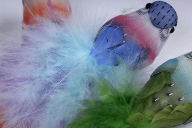 птички (6 шт в уп) 7 см 283269