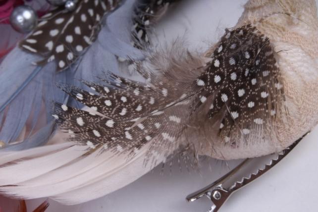 птички кружево (12 шт в уп) w14729 13х3,5см h=3,5cm