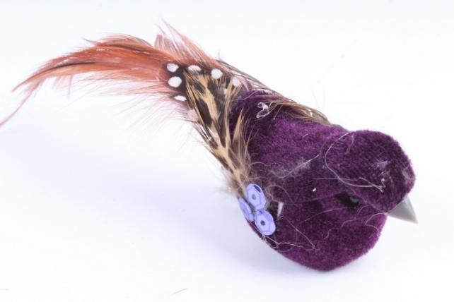 Птички на прищепке(12шт в уп) W14691
