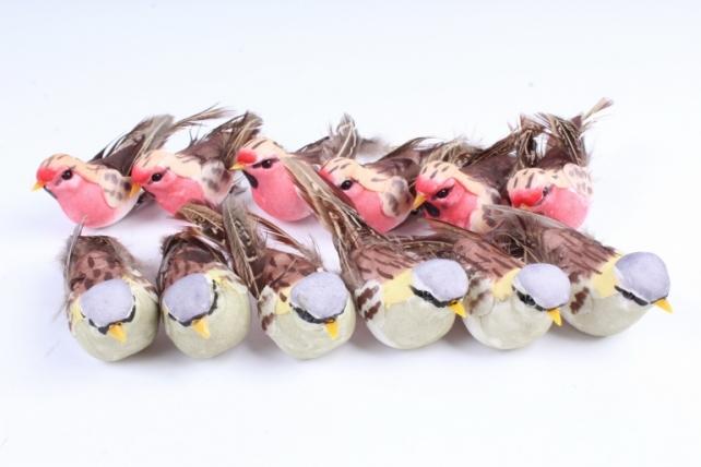 Птички (12шт в уп) FY16ABL07
