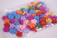 Пуговицы 1,5см Цветочки 100шт в уп H15OC319S/100 8298