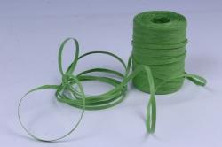 Рафия бумажная, 5 мм х 200 м Зеленое яблоко G19
