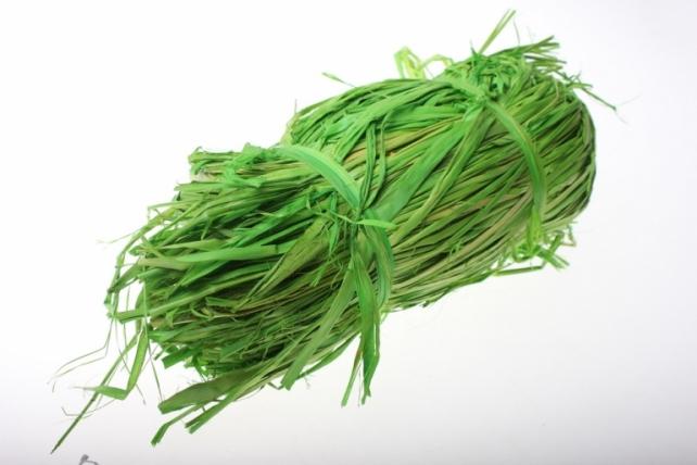 Рафия цветная (100гр) - Салатовая
