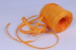 Рафия искусственная, 1,6ммх200м желтый