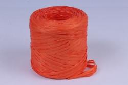 Рафия искусственная, 1,6ммх200м оранжевый