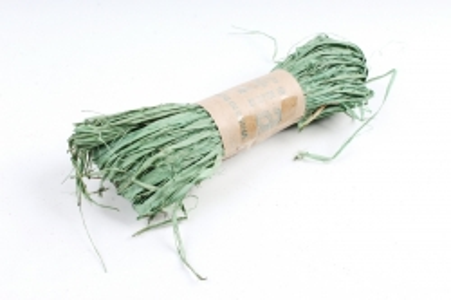 Рафия натуральная (30гр) мятная