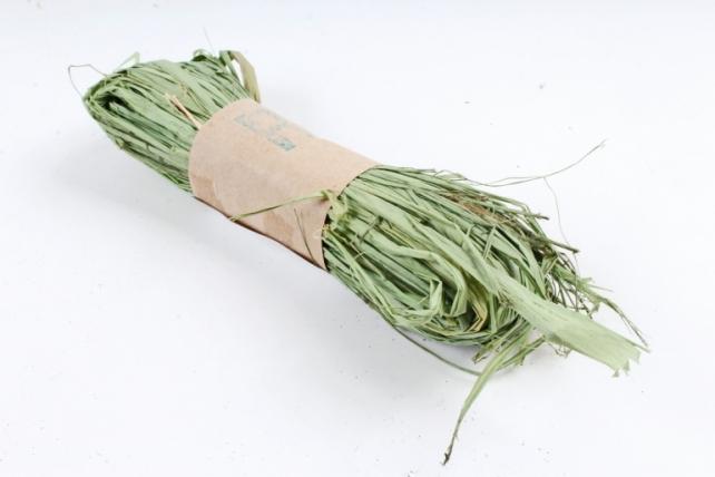 Рафия натуральная (30гр) салатовая