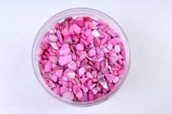 Ракушки измельчённые (600гр) (4-8мм) розовый KR-46940 (И)