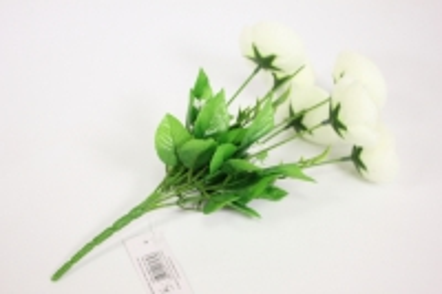 ранункулус 30см - белый 2648 kwy583
