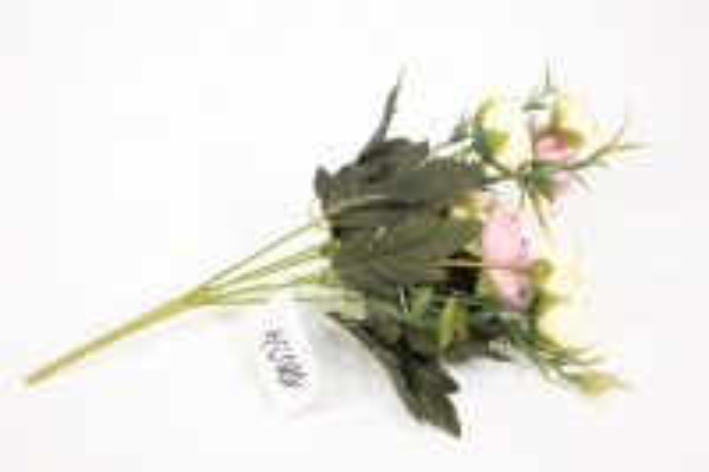 ранункулус 30см - сиренево/бежевый 2624 kwy581