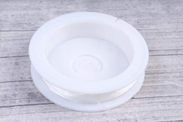 Резинка на катушке прозрачная 0,5мм*20м  (А)