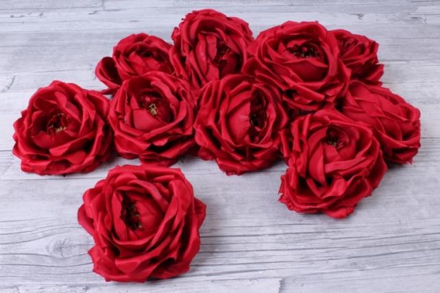 Роза французская  ( 12 шт в уп) красная  SUN462