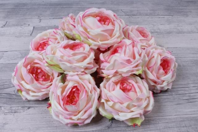 Роза французская  ( 12 шт в уп) розовая SUN462