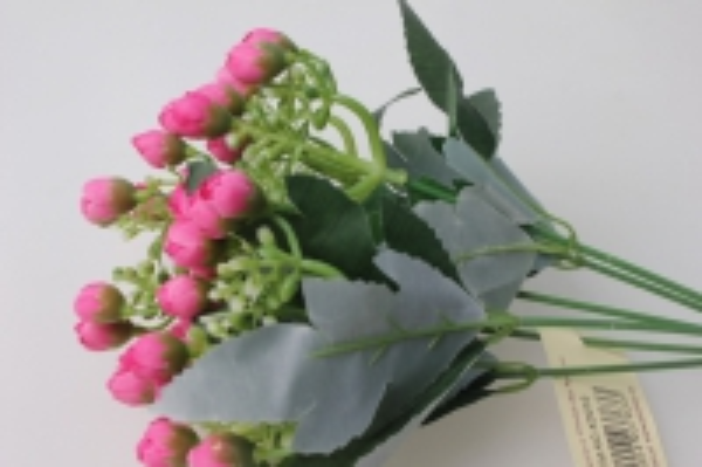 роза кустовая мини 1шт. xd010 цвета в ассортименте