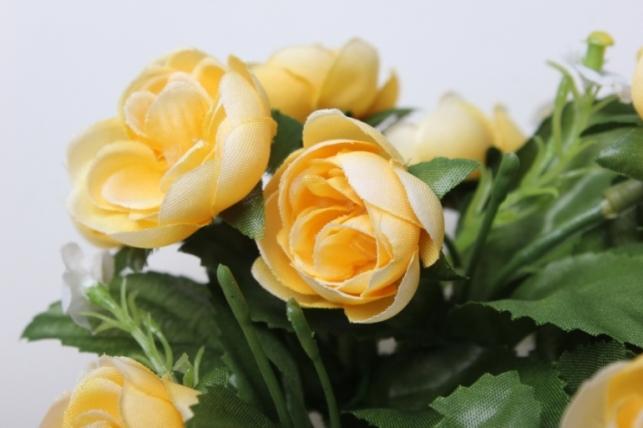 роза медовая на кольце - искусственные растения
