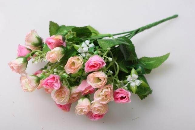 роза мелкая букет в ассортименте 35см