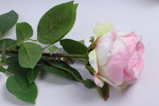 роза с бутоном 64 см розовая sun520