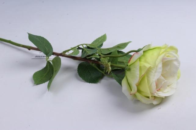 Роза с бутоном 64 см салатовая SUN520