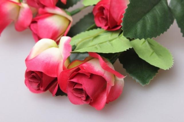 роза шарм букет 17cм kwlа146с 0535