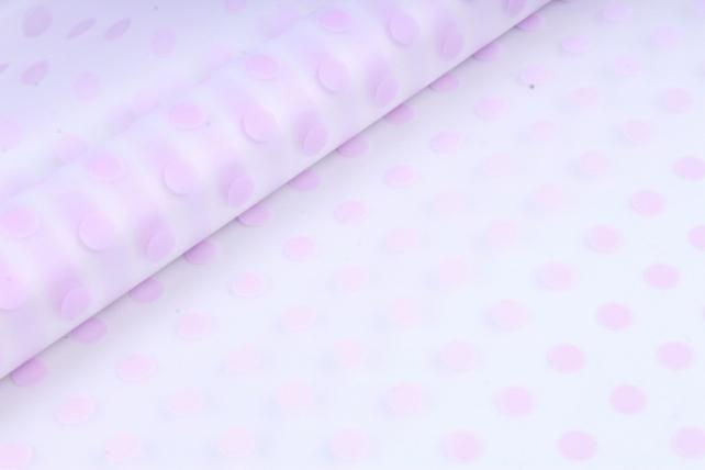 Рулон Пленка матовая Бисер 0,7*10м светло-сиреневый 00069821