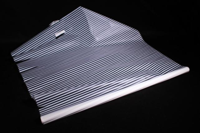 Рулон Пленка матовая Полоса Вертикаль 0,7*10м белый 00069866