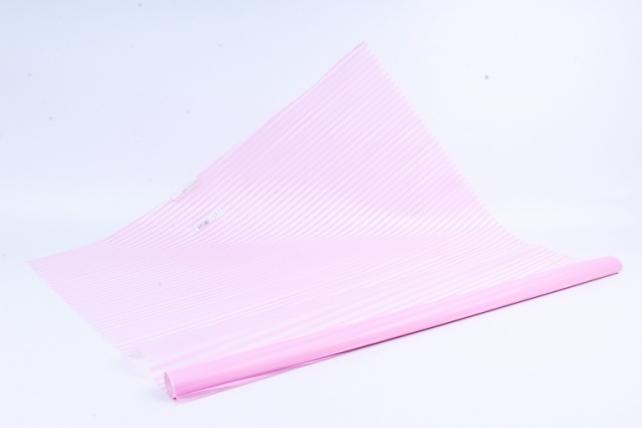 Рулон Пленка матовая Полоса Вертикаль 0,7*10м розовый 00068223