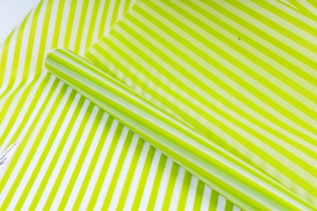 Рулон Пленка матовая Полоса Вертикаль 0,7*10м салатовый 00068224